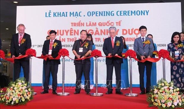 2019年第19届越南医疗设备及医药展览会开幕 hinh anh 1