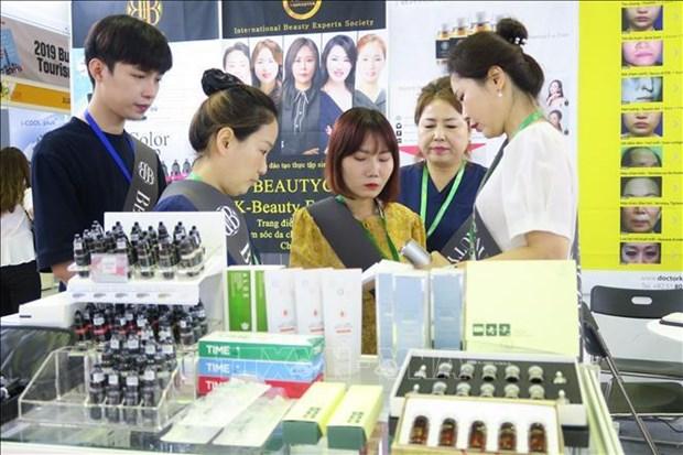 2019年第19届越南医疗设备及医药展览会开幕 hinh anh 2