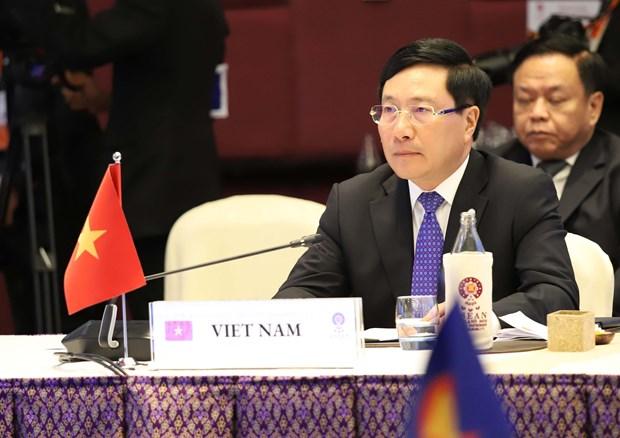 范平明与印方共同主持召开第10届湄公河-恒河合作部长级会议 hinh anh 1