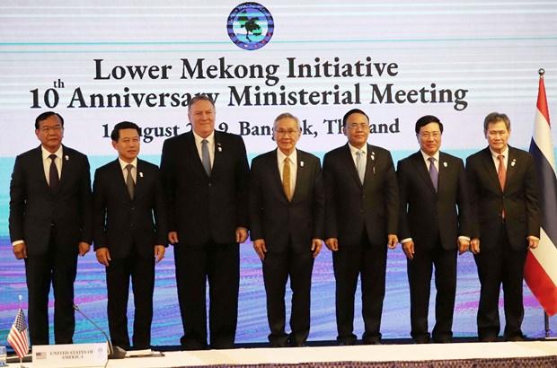 """AMM 52:越南出席第12次""""湄公河下游倡议""""部长级会议 hinh anh 1"""
