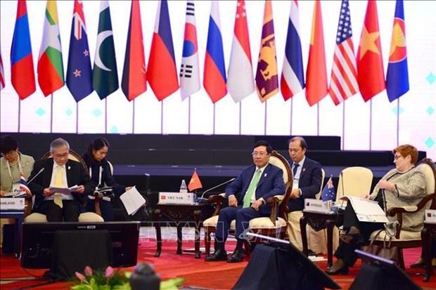 越南政府副总理兼外长范平明出席第26届东盟地区论坛 hinh anh 1