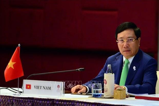 范平明在第20届东盟与中日韩外长会上讲话 hinh anh 1