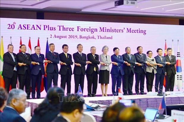 范平明在第20届东盟与中日韩外长会上讲话 hinh anh 2