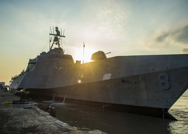 印尼与美国开展联合军演 hinh anh 1