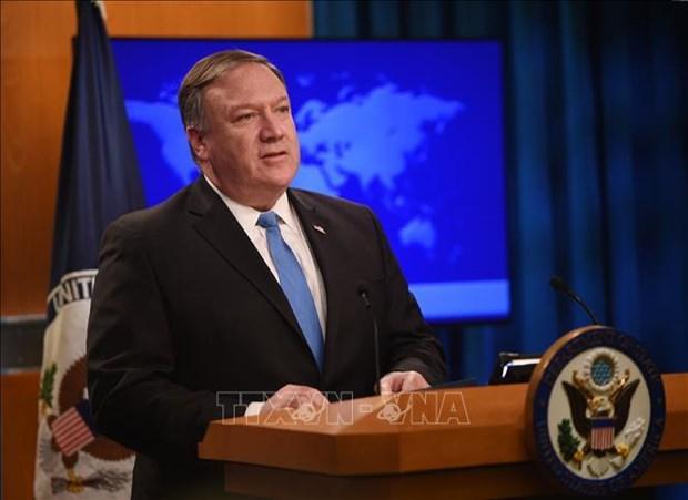 """东盟外长会议:美国国务卿谴责中国在东海的""""胁迫""""行为 hinh anh 1"""