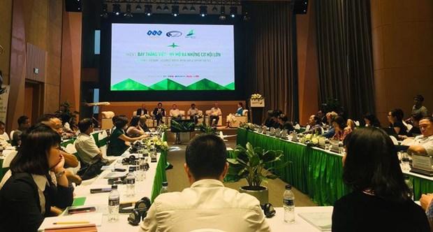 越竹将成为越南首家开通越美直飞航线的航空公司 hinh anh 1