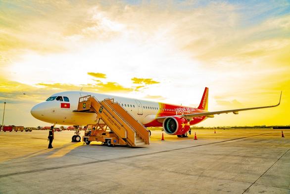 今年上半年越捷航空的航线运输收入增长22% hinh anh 2