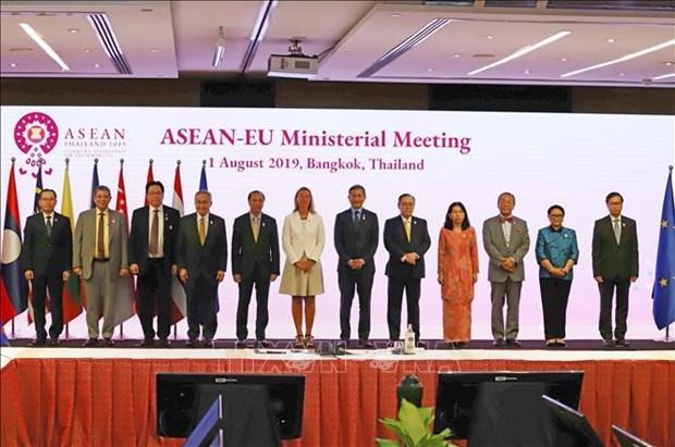 东盟与欧盟发表关于网络安全合作的联合声明 hinh anh 1