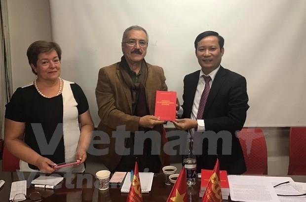越南共产党与哥伦比亚共产党加强合作 hinh anh 1