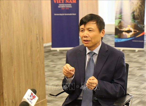 越南代表东盟对武装冲突中儿童状况表示担忧 hinh anh 1