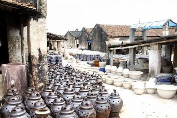 钵场陶瓷村将成为河内手工艺村旅游的一大亮点 hinh anh 1