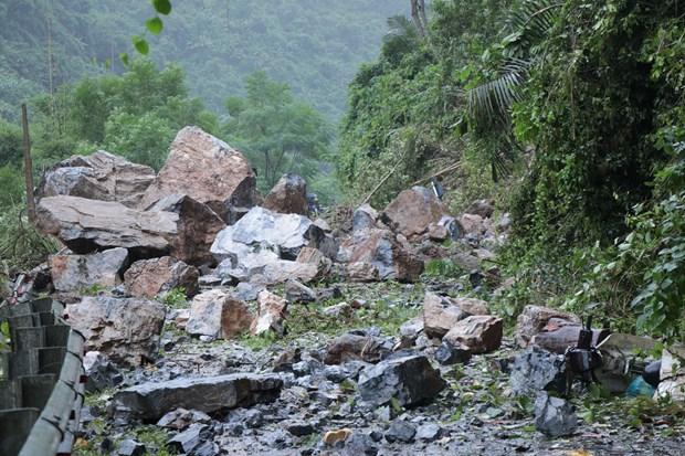 越南北部山区遭受第三号台风的袭击 hinh anh 2
