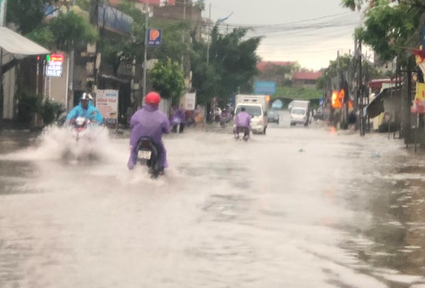 越南北部山区遭受第三号台风的袭击 hinh anh 3