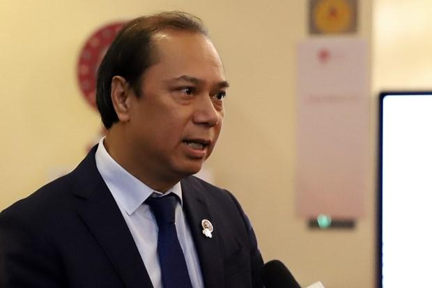 越南外交部副部长阮国勇:东海问题引起东盟外长会议的关注 hinh anh 1