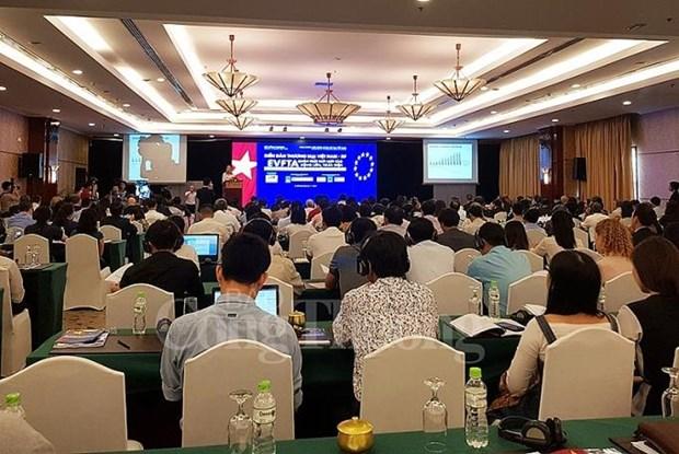 越南产品对欧盟出口空间广阔 hinh anh 1