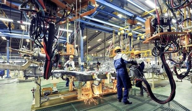 2019年前7个月制造业和加工业生产指数猛增 hinh anh 1