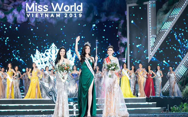 2019年越南世界小姐大赛:梁垂玲佳丽摘下桂冠 hinh anh 1