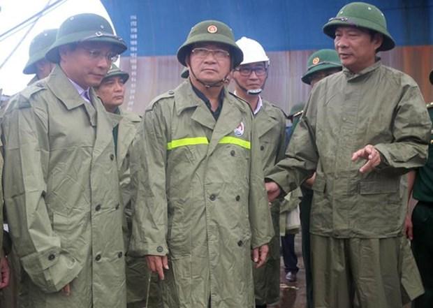 第三号台风:越南政府总理指导各部委和地方政府立即开展救灾工作 hinh anh 2