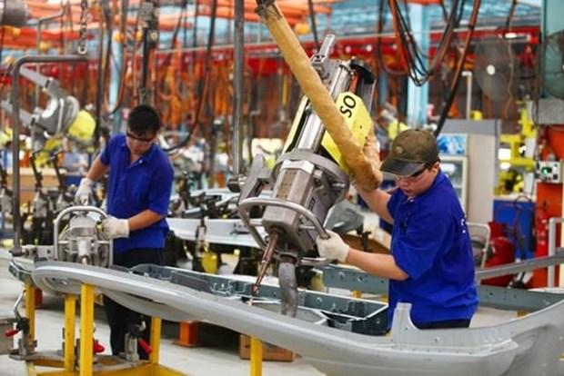 2019年前7个月制造业和加工业生产指数猛增 hinh anh 2