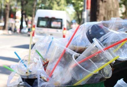 胡志明市下决心杜绝塑料垃圾污染 hinh anh 1