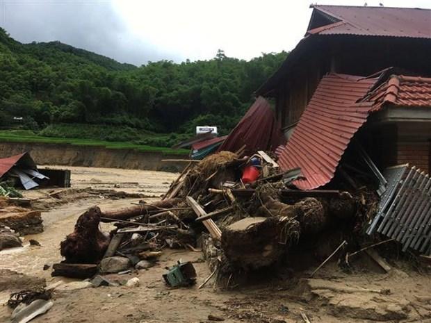 第三号台风导致北部各省18人死亡和失踪 hinh anh 1