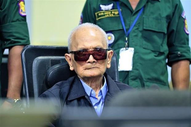 ECCC :93岁的柬埔寨红色高棉前领导人去世 hinh anh 1