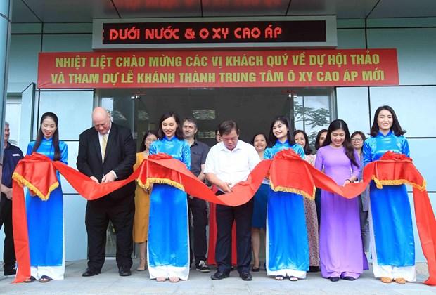 越南水下和高气压医学发展迈上新步伐 hinh anh 1