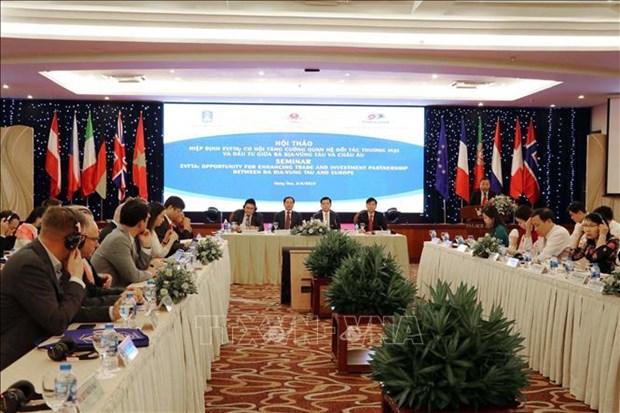EVFTA——越南各地方与欧洲加强贸易投资关系的机会 hinh anh 1