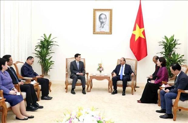 越南政府总理阮春福会见泰国央行行长 hinh anh 2