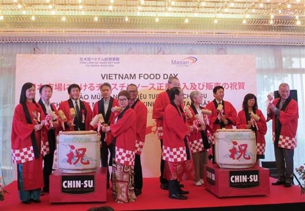Chin-su 牌辣椒酱在日本市场正式上市 hinh anh 1