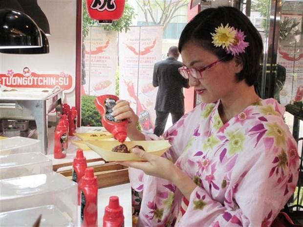 Chin-su 牌辣椒酱在日本市场正式上市 hinh anh 2