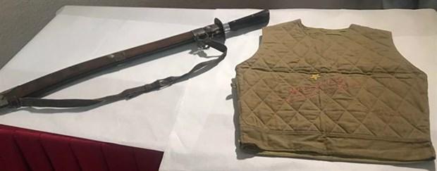 胡志明博物馆接收胡志明主席送给王志生的纪念物 hinh anh 2