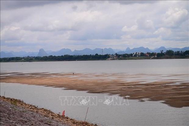 泰国:湄公河水位仍较低 hinh anh 1