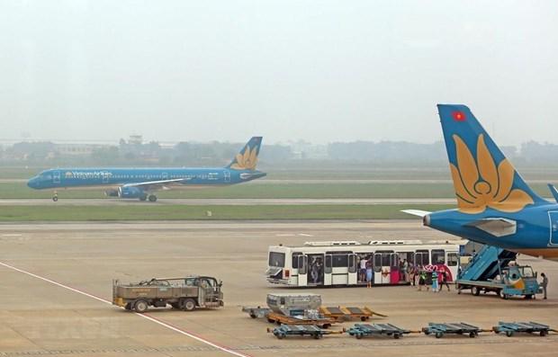 越航因恶劣天气调整飞往韩国的部分航班时刻表 hinh anh 1
