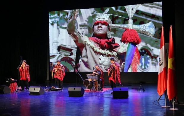 秘鲁国庆节庆祝活动在河内举行 hinh anh 1