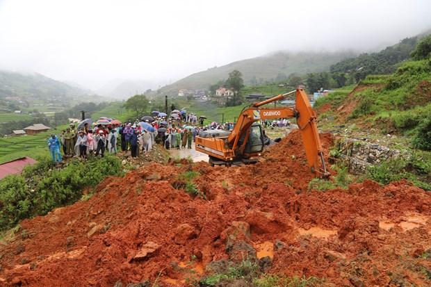 越南各地方抓紧展开第三号台灾后恢复重建工作 hinh anh 2