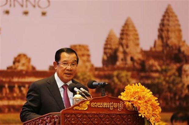 柬埔寨首相洪森:柬不会成为恐怖分子藏身和洗黑钱的窝点 hinh anh 1