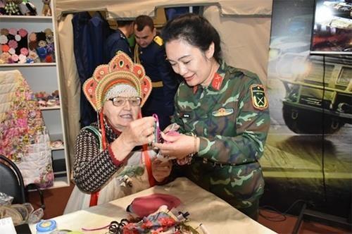 2019年国际军事比赛:各族人民文化节中的越南印象 hinh anh 2