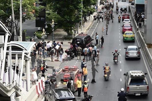 泰国曼谷爆炸事件 9名嫌犯被捕 hinh anh 1