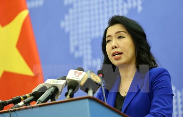 越南递交照会反对中国在黄沙群岛进行军事训练 hinh anh 1