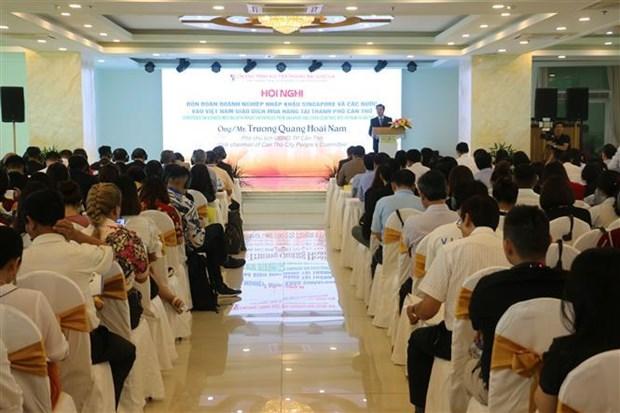 马来西亚和新加坡企业赴越南芹苴市寻贸易投资机会 hinh anh 1