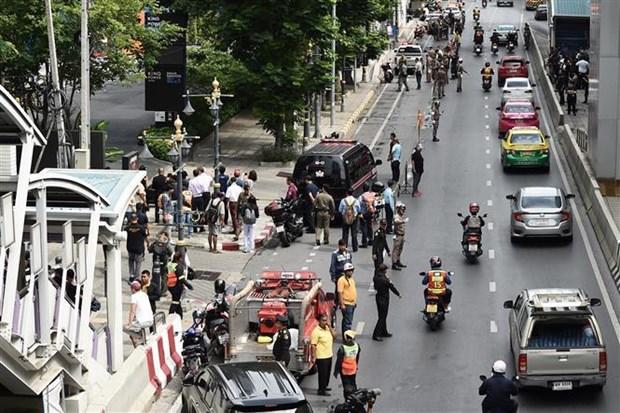 泰国曼谷爆炸事件:泰国警方搜捕十余名嫌疑人 hinh anh 1