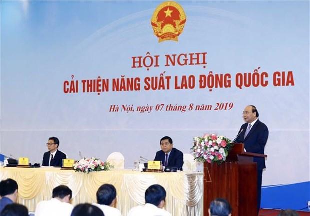 """阮春福宣布启动""""国家劳动生产率""""运动 hinh anh 1"""