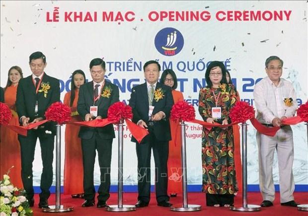 越南国际食品饮料展及越南加工技术及包装设备展览会开幕 hinh anh 1