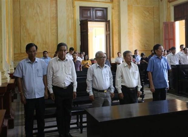 越南橡胶集团原总经理被判4年监禁 hinh anh 1