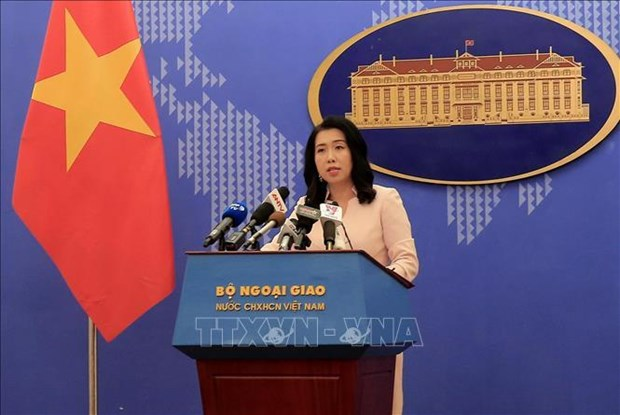 外交部发言人黎氏秋姮:中国08海洋船队停止在越南专属经济区的勘探活动 hinh anh 1