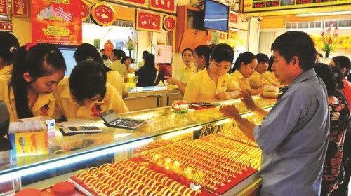 8月8日越南黄金价格超过4200万越盾 hinh anh 1