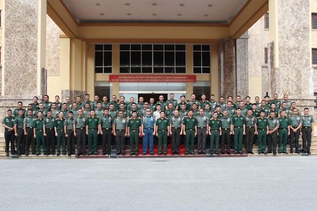 印尼军官代表团访问越南第一军区 hinh anh 2