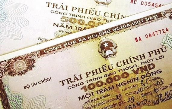 越南政府债券发行:本周成功筹资1.85万亿越盾 hinh anh 1