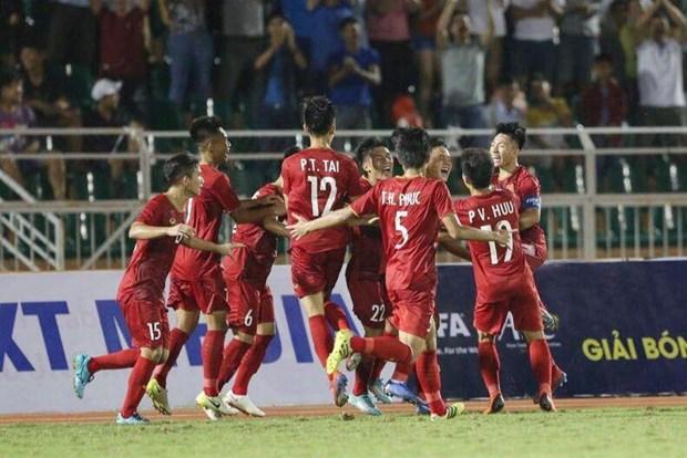 2019年东南亚U18足球锦标赛:越南队开门红 hinh anh 2